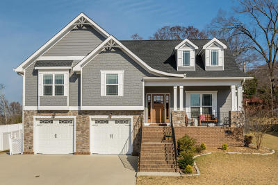 Ooltewah Single Family Home Contingent: 8141 Perfect View