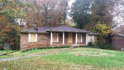 Chattanooga Single Family Home For Sale: 8164 Holly Crest Dr