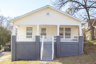 Chattanooga TN Single Family Home For Sale: $143,000
