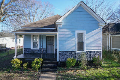 Chattanooga Single Family Home Contingent: 2310 Wheeler Ave