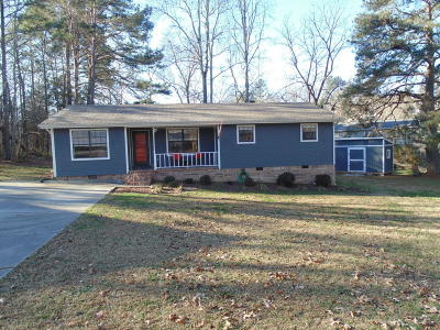Ringgold Single Family Home Contingent: 40 Rolling Meadows Ct