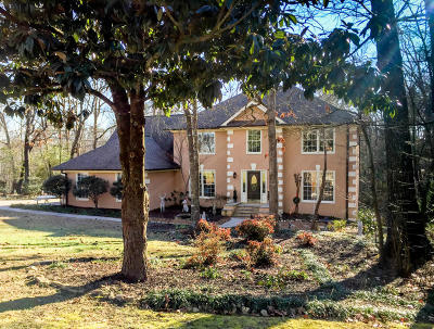 Chattanooga Single Family Home Contingent: 9430 Misty Mountain Tr