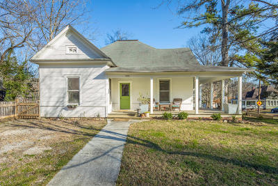 Chattanooga Single Family Home Contingent: 5008 Saint Elmo Ave