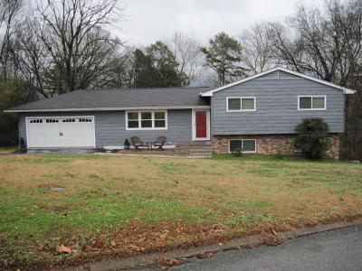 Chattanooga Single Family Home Contingent: 3641 Highland Terrace Dr