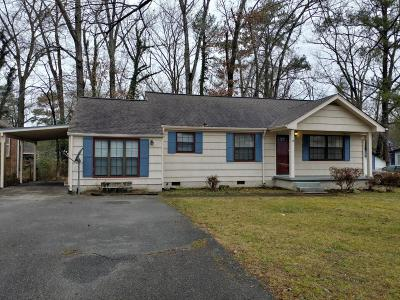 Chattanooga Single Family Home Contingent: 717 Castle Dr