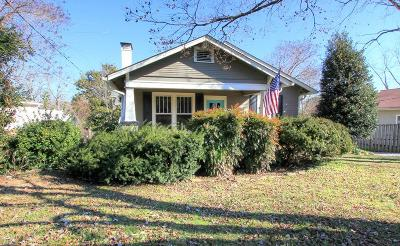 Chattanooga Single Family Home For Sale: 1215 Duane Rd