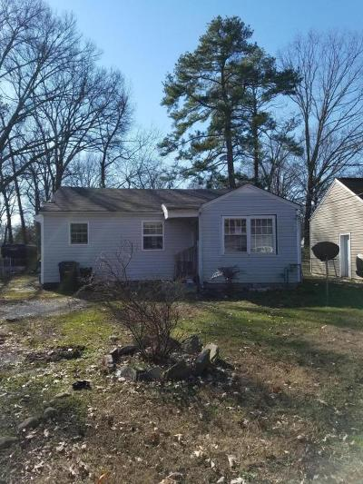 Chattanooga Single Family Home For Sale: 4712 Montview Dr