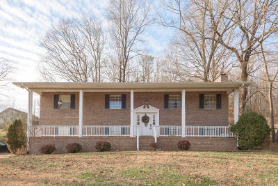 Chattanooga Single Family Home Contingent: 5541 Shady Branch Dr