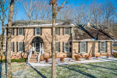 Signal Mountain Single Family Home For Sale: 37 Hidden Brook Ln