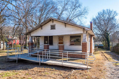 Chattanooga TN Single Family Home For Sale: $35,000