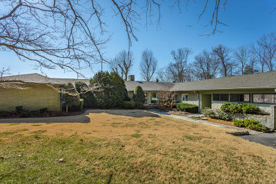Lookout Mountain Single Family Home For Sale: 1517 Chickamauga Tr