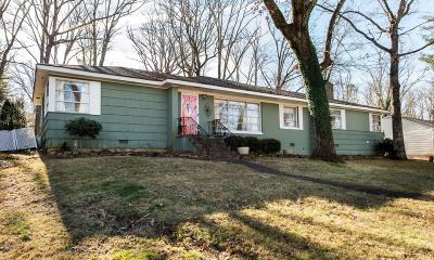 Signal Mountain Single Family Home Contingent: 210 Arrow Dr