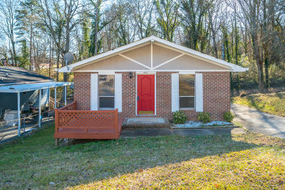 Chattanooga Single Family Home Contingent: 3242 Castle Ave