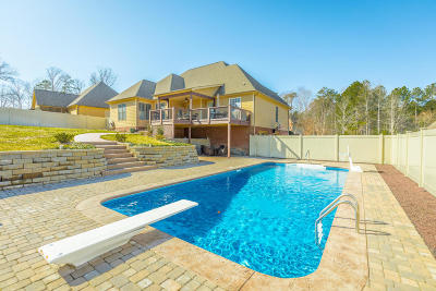 Soddy Daisy Single Family Home Contingent: 11184 Captains Cove Dr