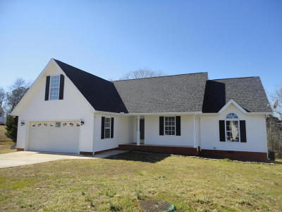Ringgold Single Family Home Contingent: 45 Bluffview Dr