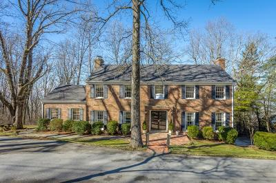 Lookout Mountain Single Family Home For Sale: 1223 Fort Stephenson Oval