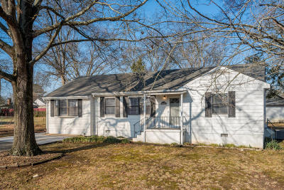 Chattanooga Single Family Home For Sale: 1047 Floyd Dr