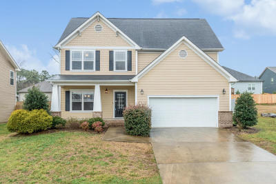 Ooltewah Single Family Home Contingent: 7567 Hampstead Hall Dr