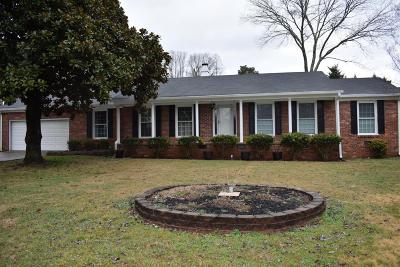 Hixson Single Family Home For Sale: 5749 Hixson Pike