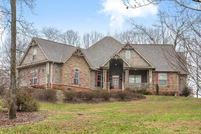 Soddy Daisy Single Family Home Contingent: 9131 Rocky Point Rd
