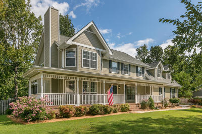 Ooltewah Single Family Home Contingent: 8105 Turtle Ln