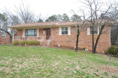 Chattanooga Single Family Home For Sale: 3819 Deerfoot Dr