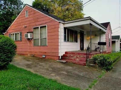 Chattanooga TN Single Family Home For Sale: $32,000