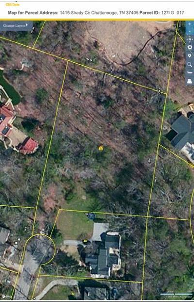 Chattanooga Residential Lots & Land For Sale: 1415 Shady Cir