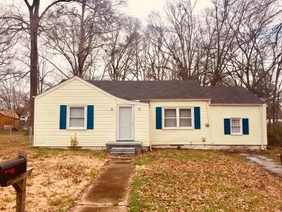 Chattanooga Single Family Home For Sale: 5615 Clemons Rd