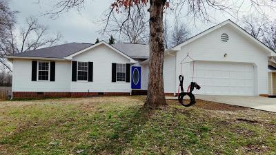 Soddy Daisy Single Family Home Contingent: 10514 Hunter Trace Dr