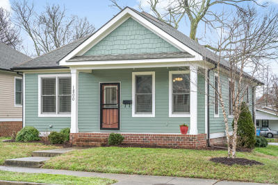Chattanooga Single Family Home For Sale: 1800 Vine St