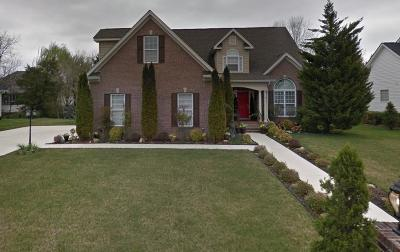 Ooltewah Single Family Home Contingent: 7344 Lazy Brook Ct