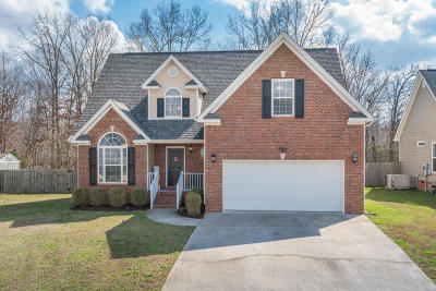 Ooltewah Single Family Home Contingent: 8332 Witherow Way