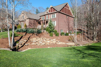 Signal Mountain Single Family Home For Sale: 34 Ridgerock Dr
