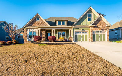 Ringgold Single Family Home Contingent: 117 Sawtooth Oak Tr
