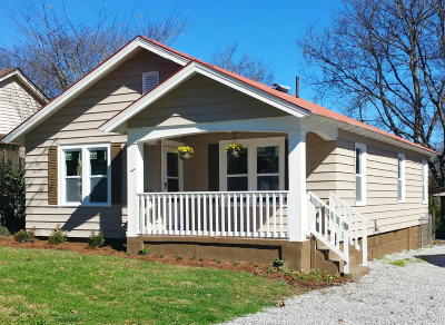 Chattanooga Single Family Home Contingent: 5351 Greenbriar Rd