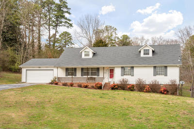 Ringgold Single Family Home Contingent: 54 Robert E Lee Dr