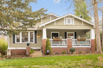 Chattanooga Single Family Home Contingent: 1246 Duane Rd