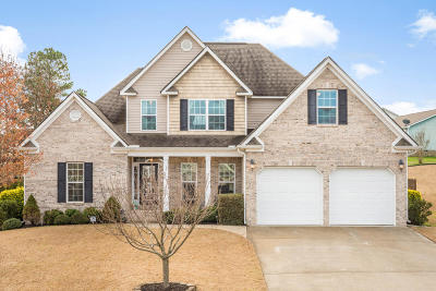 Ringgold Single Family Home Contingent: 211 Kailors Cove Cir