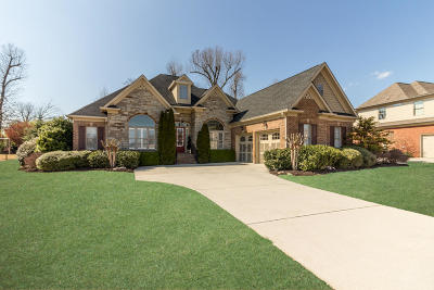 Ooltewah Single Family Home For Sale: 7921 Hampton Cove Dr
