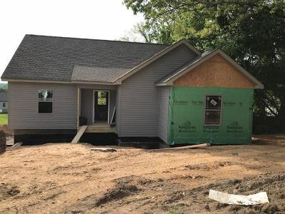 Cleveland Single Family Home For Sale: Lot 3 Tasso Ln