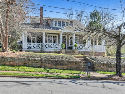 Chattanooga Single Family Home Contingent: 1000 Hanover St