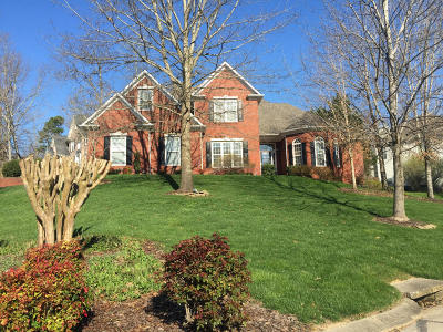Ooltewah Single Family Home Contingent: 9105 Tower Pines Cove