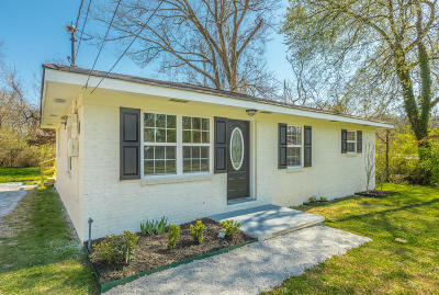 Chattanooga Single Family Home Contingent: 107 Lancaster Ave