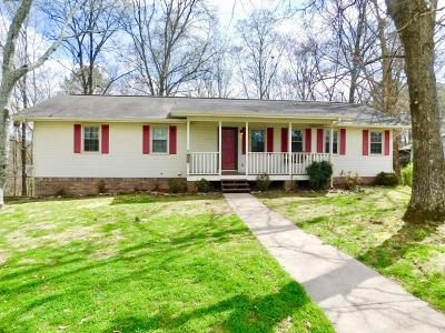 Single Family Home For Sale: 710 Swansons Ridge Rd