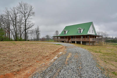 Chattanooga Single Family Home For Sale: 500 Big Fork Rd #1