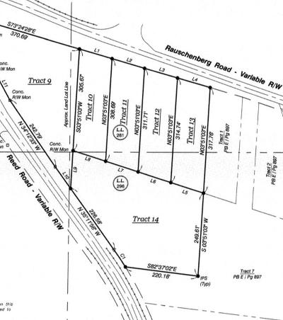 Dalton Residential Lots & Land For Sale: Tract 14 Reed Rd
