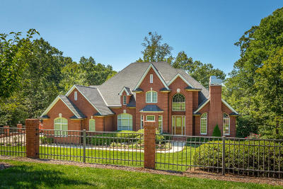 Ooltewah Single Family Home Contingent: 8848 Forest Creek Ln