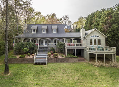 Soddy Daisy Single Family Home Contingent: 9006 Rocky Point Rd