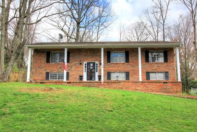 Signal Mountain Single Family Home Contingent: 1702 Chalet Cir